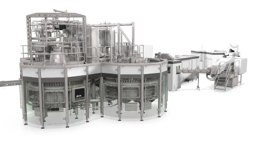 Mit einem neuen Baukastensystem mit Rundläufermaschinen für die hygienische Abfüllung bietet KHS den Herstellern sensitiver Getränke genau die Sicherheit, die sie brauchen.
