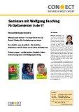 Seminare mit Wolfgang Fasching