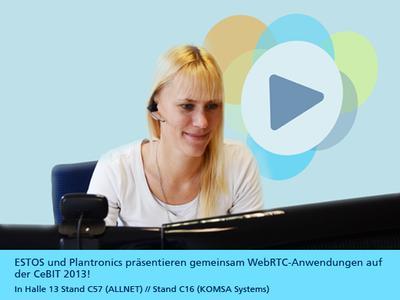 ESTOS und Plantronics präsentieren gemeinsam WebRTC-Anwen...