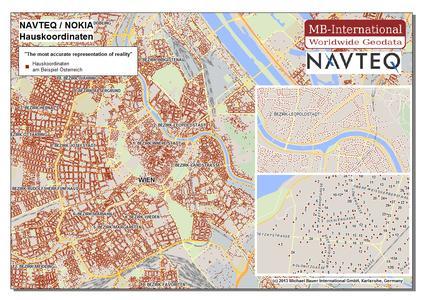 NAVTEQ / NOKIA – Hauskoordinaten am Beispiel Österreich