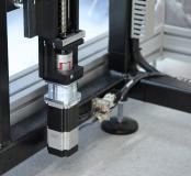 Antrieb des 3D-Druckers - Motor der Baureihe Ecostep mit Spindelachse