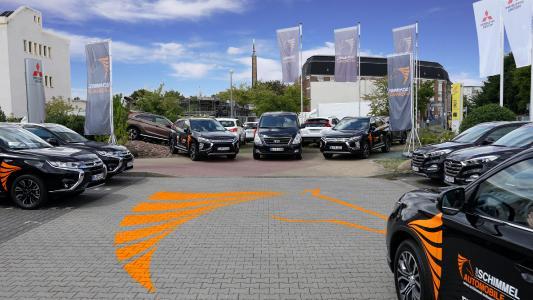 Die Flotte für die Füchse Berlin – 10 Fahrzeuge der Marken Hyundai und Mitsubish