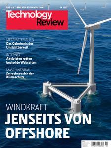 Titelbild Technology-Review-Ausgabe 4/2012