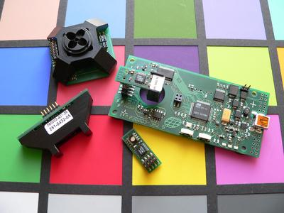 JENCOLOR-Produktfamilie mit ICs, Funktionsboards und Software