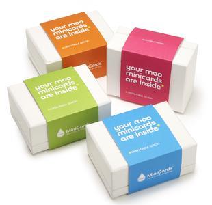 Verpackung MOO MiniCards