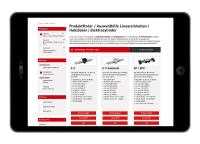 Der neue Online-Produktfinder von RK-Rose+Krieger bietet zahlreiche Filtermöglichkeiten und zeigt die Suchergebnisse dynamisch an