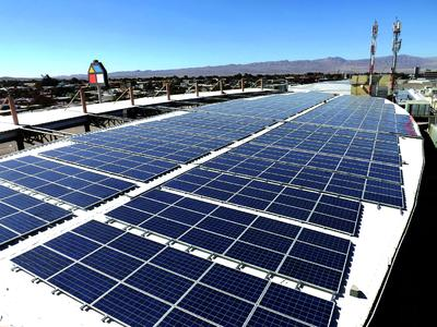 TRITEC Intervento builds largest PV roof system in South America