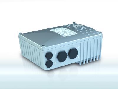 NORDAC BASE – SK 180E von NORD DRIVESYSTEMS: Der Umrichter im robusten Design ist speziell für einfache Applikationen konzipiert und dezentral, außerhalb des Schaltschranks installierbar