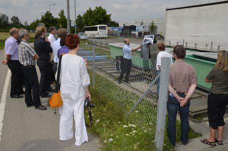Besuch auf der Hauraton-Versuchsanlage in Augsburg