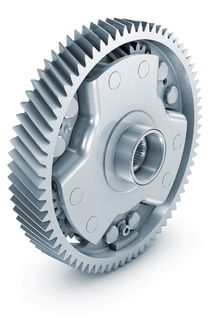 Lightweight differential with spur gearing