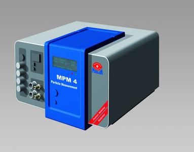 Particle Measurement System MPM-4. Small, easy-to-handle, reliable for the workshop