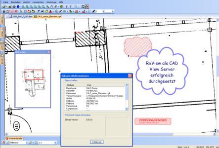 RxView als CAD View Server erfolgreich umgesetzt