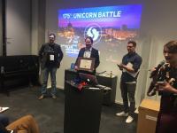 OmegaLambdaTec gewinnt 175. Unicorn Battle in Berlin