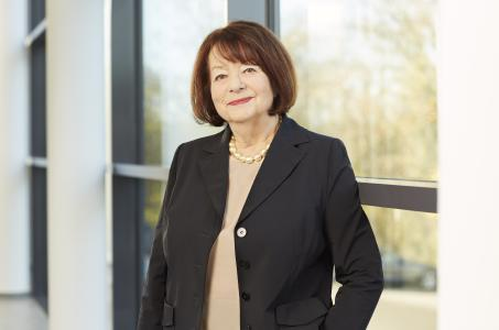 Brigitte Vöster-Alber ist seit 1968 die Geschäftsführende Gesellschafterin der GEZE GmbH / Bild: Karin Fiedler für GEZE GmbH