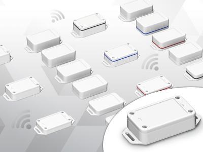 Die Baureihe der neuen IOT-Sensorgehäuse umfasst insgesamt 18 Varianten in drei verschiedenen Höhen und zwei Schutzarten