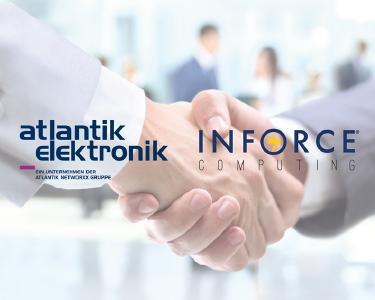 Atlantik Elektronik und Inforce Computing vereinbarten einen Distributionsvertrag