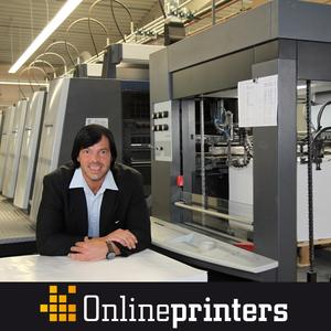 Online print shop cuts poster prices (Photo: Walter Meyer, CEO of Onlineprinters GmbH)