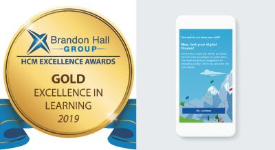 Brandon Hall Award und Digital Basecamp