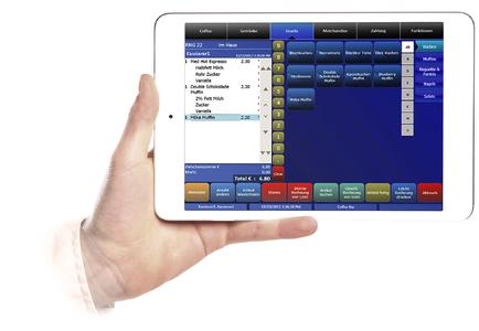 MF iPadmini Front Hand2000 QuickService 07012013 PhB SGS db, Copyright by MICROS-FIDELIO GmbH