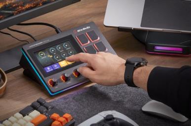 AVerMedia bringt Live-Streamer NEXUS und MIC 330 auf den Markt, ein 6-Spur-Audiomischpult/Kontrollzentrum und ein dynamisches XLR-Mikrofon