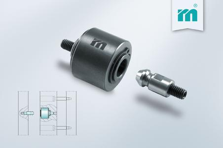 NEW at Meusburger - Ball-actuated puller for installation in 3-plate moulds / Picture credits: Photo (Meusburger)