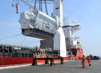 Rhenus transports 13 power generators to Turkey for a floating power station