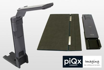 INCOM distribuiert Scanner von piQx Imaging