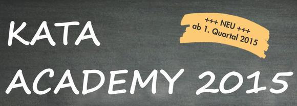 KATA ACADEMY 2015 - kostenfreie Info-Abende im Herbst 2014