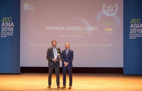 Cevotec receives JEC Innovation Award at JEC Asia