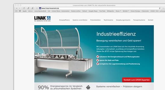 Die neue Seite: www.linearmovement.de