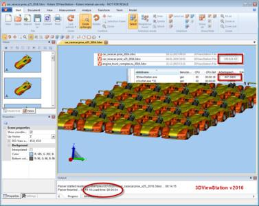 Große 3D CAD Modelle noch schneller visualisieren & analysieren: KISTERS 3DViewStation V2016