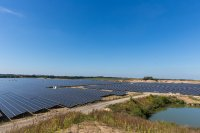 Der Solarpark in Zietlitz erbringt eine Leistung von mehr als 80 MWp / Foto: Stephan Rudolph-Kramer