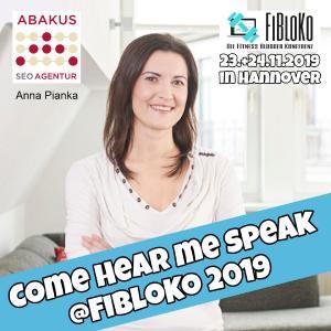 FiBloKo 2019: SEO OffPage Workshop mit Anna Pianka von ABAKUS Internet Marketing