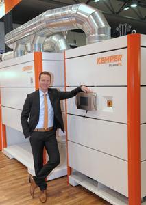 System mit extrem langer Lebensdauer: Mit dem neuen PlasmaFIL bringt die KEMPER GmbH um Geschäftsführer Björn Kemper eine innovative Filtertechnik auf den Markt.
