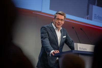 Alexander Birken, Vorstandsvorsitzender der Otto Group / Bildnachweis: BVL/Bublitz
