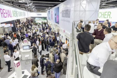 REHAU AT THE ISH 2017: Certainly faster (Foto Source: REHAU)