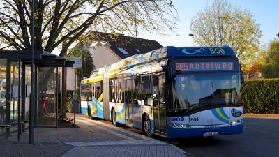 Electric power replaces diesel: Solingen public transport company invests in buses with IMC® technology from Kiepe Electric