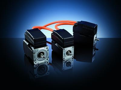 Servomotor with integrated servo inverter ihXT.