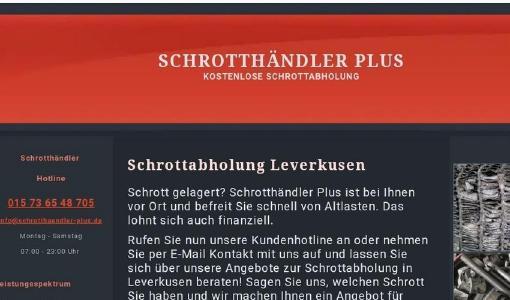 kostenlose Schrottabholung Leverkusen