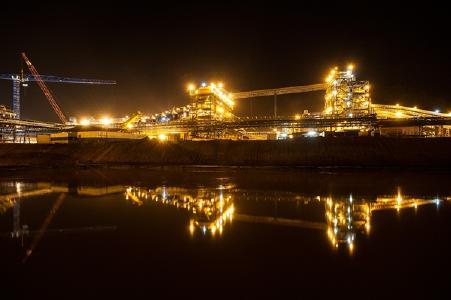 Die Kibalie-Mine; Foto: Randgold Resources