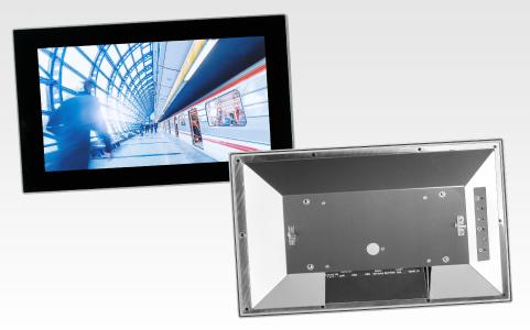 The new POS-RP monitor series from Distec for Internet of Things in harsh industrial environment / Copyright: Distec