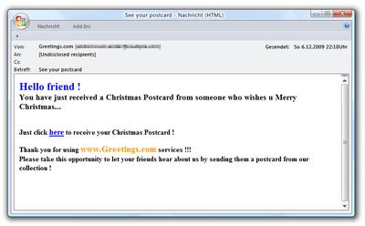 weihnachtsgr e locken in die malware falle g data software ag pressemitteilung. Black Bedroom Furniture Sets. Home Design Ideas