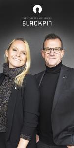 CEO Sandra Jörg (BLACKPIN GmbH) und Co-Investor Dr. Gerold Bläse, (Bläse + Kollegen GmbH)