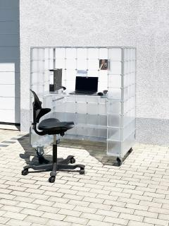mobiler Arbeitsplatz - fahrbares Büro