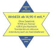 WebEDI zum Einführungspreis