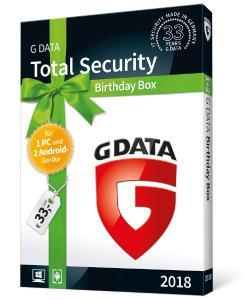 G DATA feiert seinen 33. Geburtstag mit einer Security-Sonderausgabe
