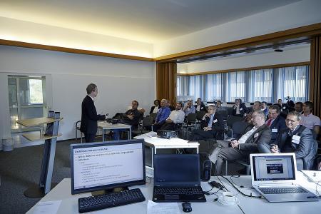 Eindrücke der gut besuchten TELEKOM e.V. Veranstaltung im August 2017 bei Pharmaserv in Marburg