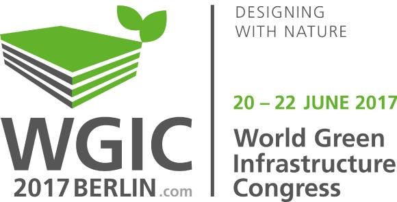Logo WGIC 2017. Desiging with nature