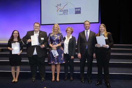 Nationale Bestenehrung in Berlin: drei Azubis aus dem Saarland ausgezeichnet