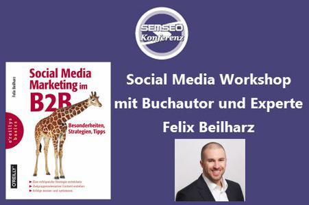 SEMSEO 2014: Social Media Workshop mit Felix Beilharz